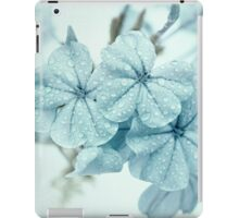 Plumbago is the language that my garden speaks in summer... iPad Case/Skin