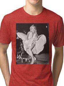 Marilyn Monroe Print Tri-blend T-Shirt