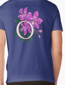 O is for Orchid - full image Mens V-Neck T-Shirt