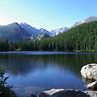 Bear Lake, Rocky Mountain National Park by Bernie Garland
