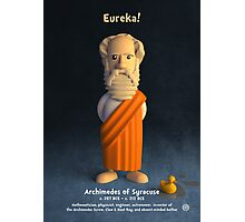 Archimedes of Syracuse - Eureka! Photographic Print
