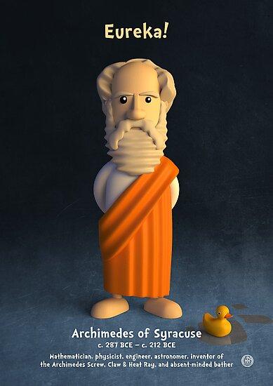 Archimedes of Syracuse - Eureka! by chayground