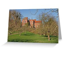 Chartwell in Westerham Kent, The home of Sir Winston Churchill Greeting Card
