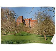 Chartwell in Westerham Kent, The home of Sir Winston Churchill Poster