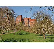 Chartwell in Westerham Kent, The home of Sir Winston Churchill Photographic Print