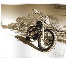 Harley Davidson Dyna Glide Poster