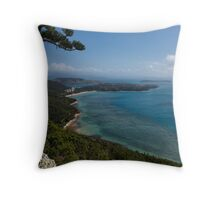 Passage Peak Blues Throw Pillow