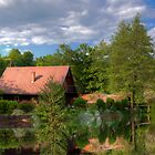 House by the river by TGasparovic