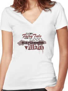 FairyTale Women's Fitted V-Neck T-Shirt