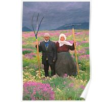 landscape heavenly kurdish family Poster