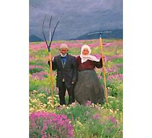 landscape heavenly kurdish family Photographic Print