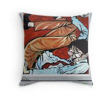 'ANOTHER DAY AT THE OFFICE'  Throw Pillow