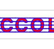 Piccolo Red White & Blue II Sticker