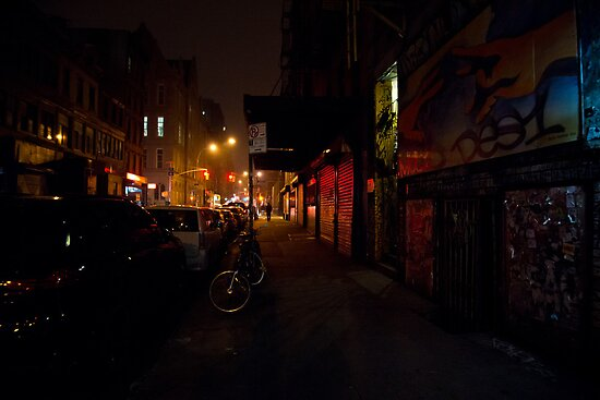 Night - Lower East Side - New York City by Vivienne Gucwa