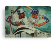 Carter and Alomar Canvas Print