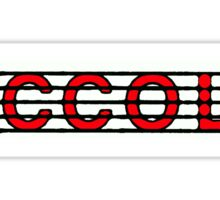 Piccolo Red II Sticker