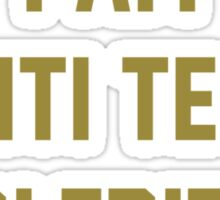I Am Manti Te'o's Girlfriend - SOUTH BEND Edition Sticker
