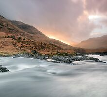 Sunset at Glen Etive by Chris Frost Photography
