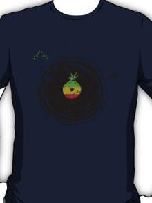 Reggae Music Peace - Vinyl Records Weed Pot - Cool Retro Music DJ T-Shirt T-Shirt