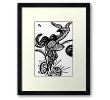 073 Framed Print