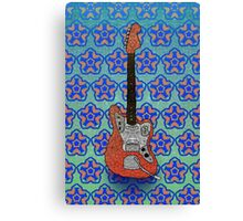 Fender Jaguar Canvas Print