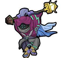 Chibi Jax League Of Legends by Koudir
