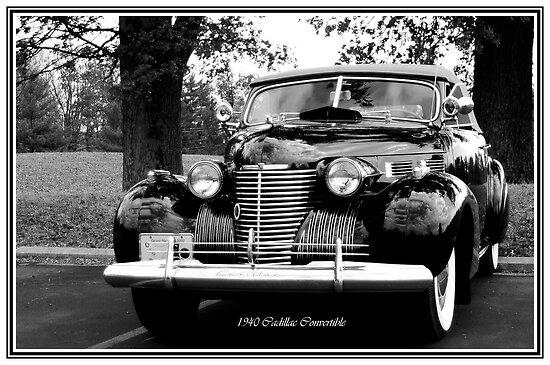 1940 Cadillac Convertible by Randy Branham