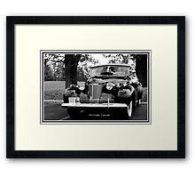 1940 Cadillac Convertible Framed Print