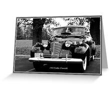 1940 Cadillac Convertible Greeting Card