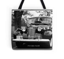 1940 Cadillac Convertible Tote Bag