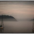 &quot;Fog On Frenchman&#x27;s Bay&quot; by Bob Adams