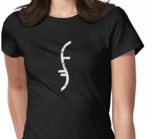 Helix Symbol Light (Cracked) Womens Fitted T-Shirt