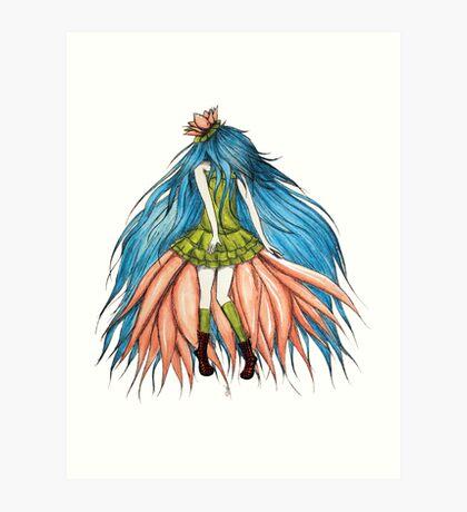 Lotusëia Art Print