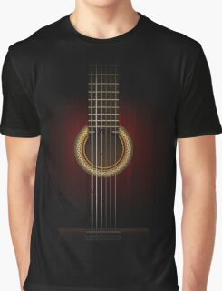 Full Guitar  Graphic T-Shirt