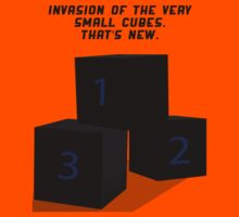 The Invasion of the Cubes Kids Clothes