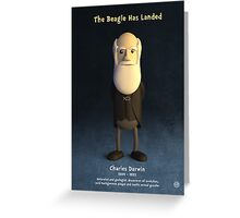 Charles Darwin - The Beagle Has Landed Greeting Card