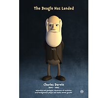Charles Darwin - The Beagle Has Landed Photographic Print