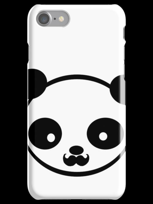 Mustache panda by joangel