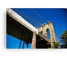 Manhattan Bridge, New York Canvas Print