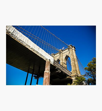 Manhattan Bridge, New York Photographic Print