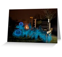 Beehive by night Greeting Card