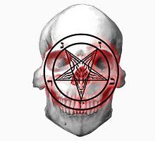 Pentagram Baphomet Skull. Unisex T-Shirt