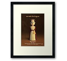 Ada Lovelace - Get With The Program Framed Print