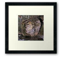 Boulder Holder Framed Print
