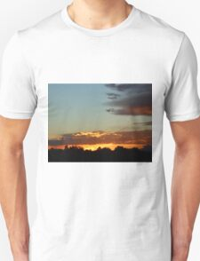 Sunset over the Rocky Mountains T-Shirt