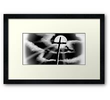 The Price He Paid Framed Print