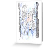 Bingham fluid Greeting Card