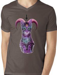 satanic Mens V-Neck T-Shirt