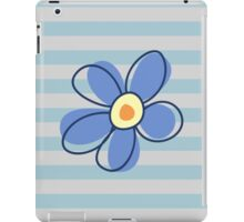 Flowers, Blossoms, Blooms, Petals - Blue Yellow iPad Case/Skin