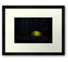 Dusky Tent Framed Print